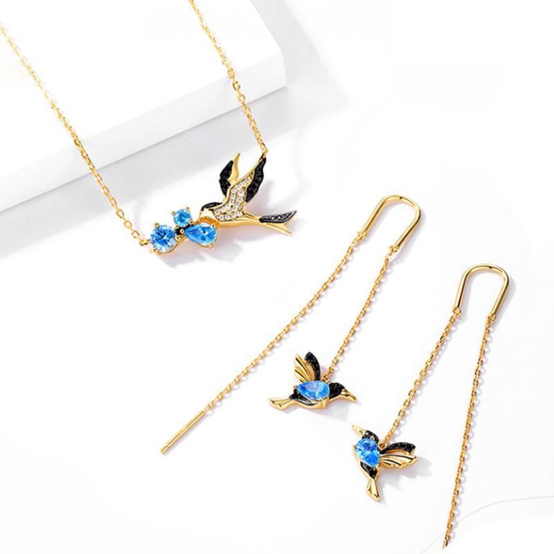 Women Fashion Swallow Necklace