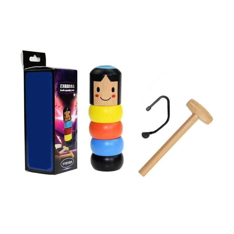 Unbreakable wooden Man Magic Toy - mygeniusgift