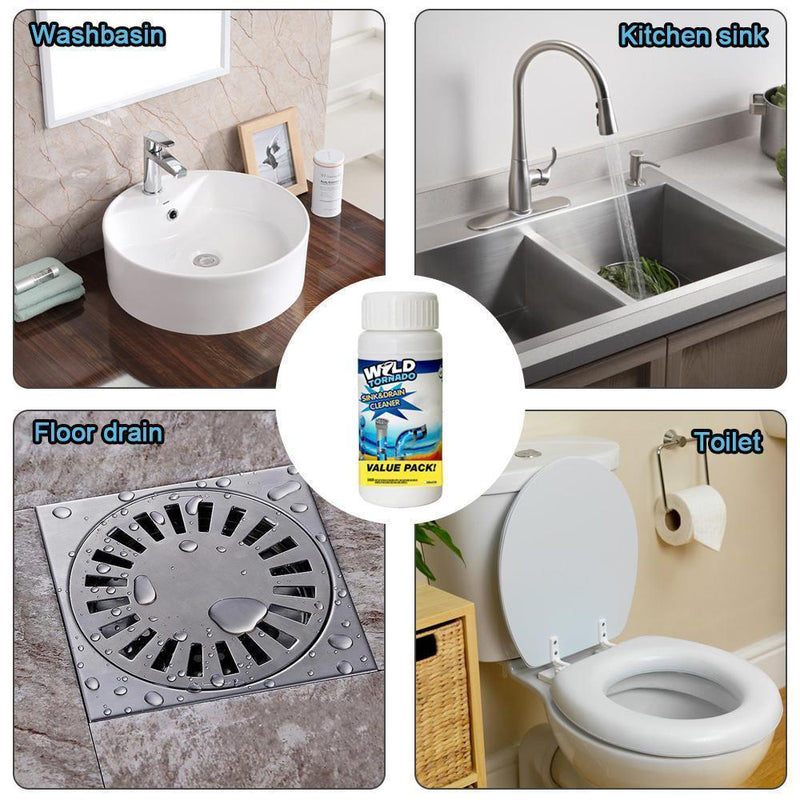 Powerful Drain Cleaner, Washbasin Cleaner - mygeniusgift