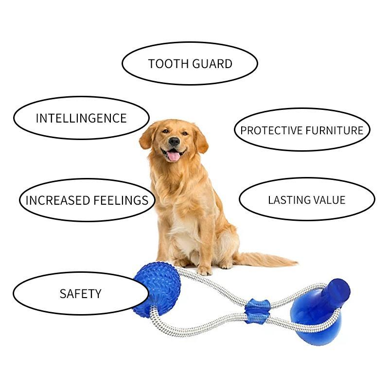 Multifunction Pet Molar Bite Toy - mygeniusgift