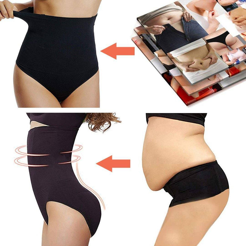 Mygeniusgift™ High Waist Tummy Control Shapewear Panties - mygeniusgift