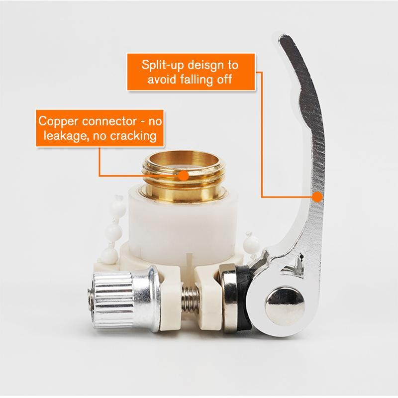 Universal 3-in-1 Hose Tap Connectors