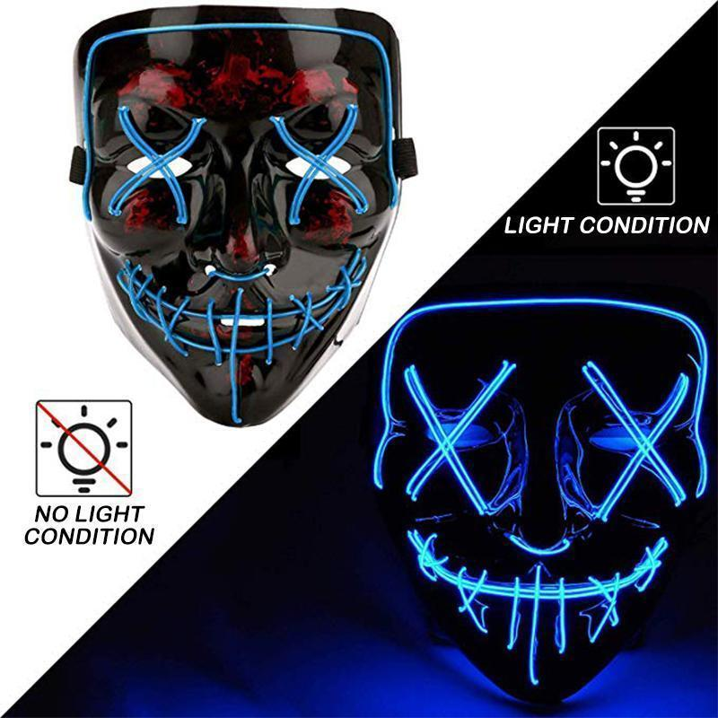 MygeniusGift™ Halloween - LED luminous mask - mygeniusgift