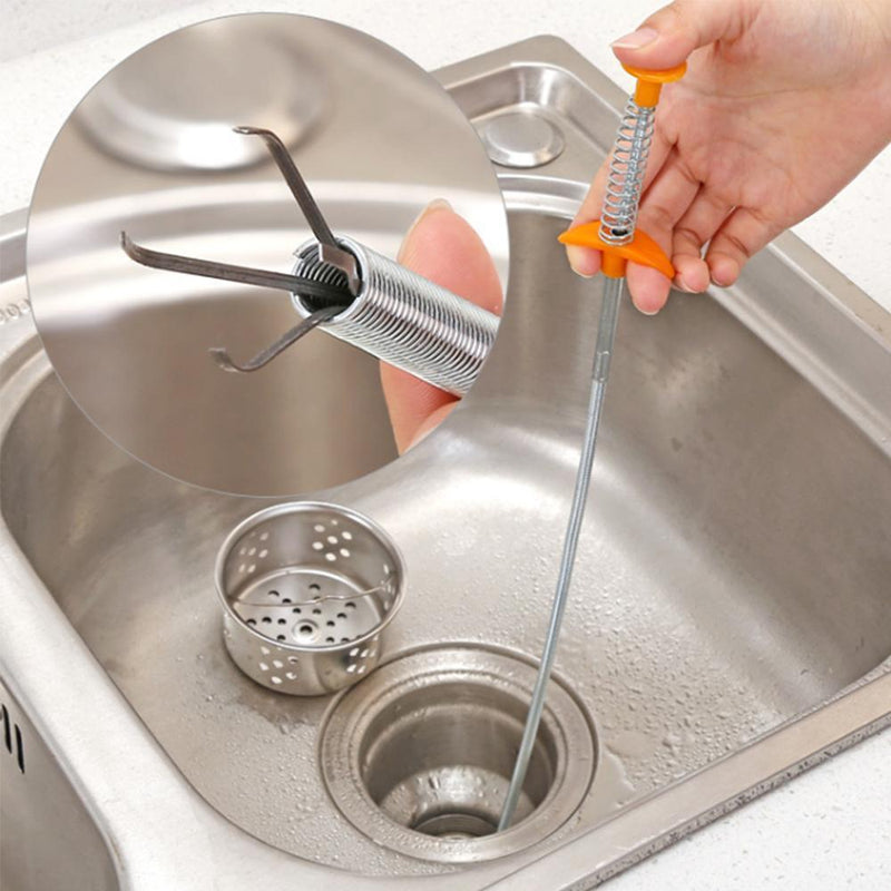 Kitchen Sink Sewer Cleaning Hook - mygeniusgift