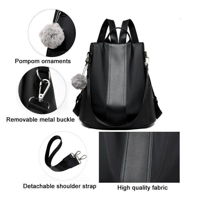 Mygeniusgift™ Waterproof Nylon Anti-theft Backpack - mygeniusgift