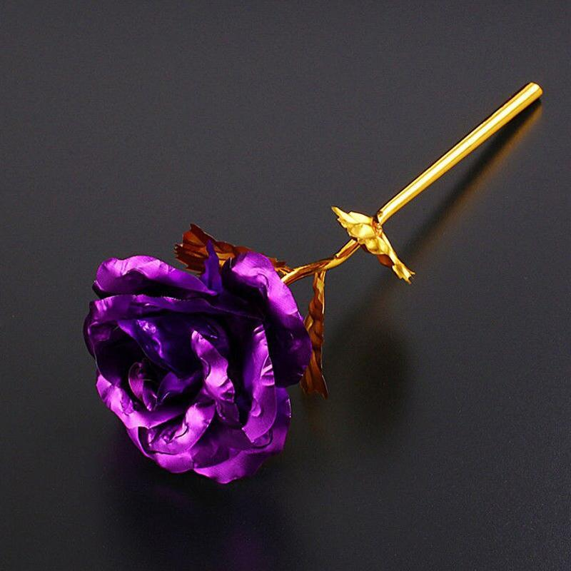 24K Gold Rose - mygeniusgift