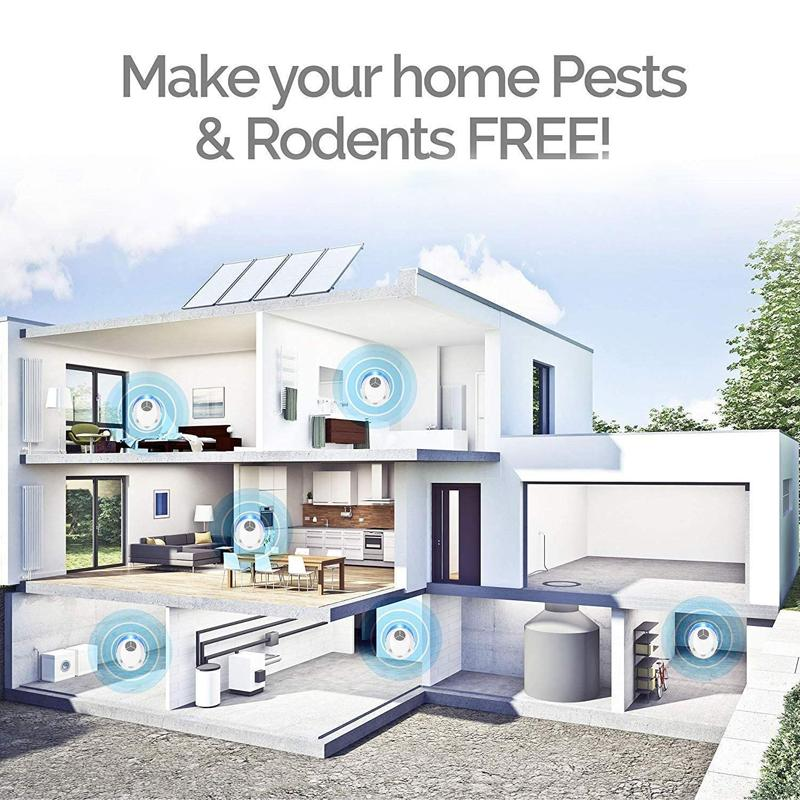 2020 Upgraded Ultrasonic Pest Repeller