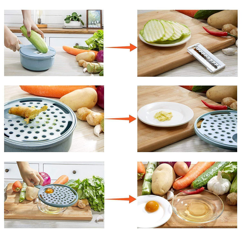 Mygeniusgift™ Four Blades Vegetable Slicer - mygeniusgift
