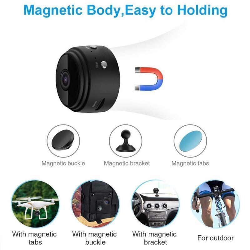 1080p Magnetic WiFi Mini Camera - mygeniusgift
