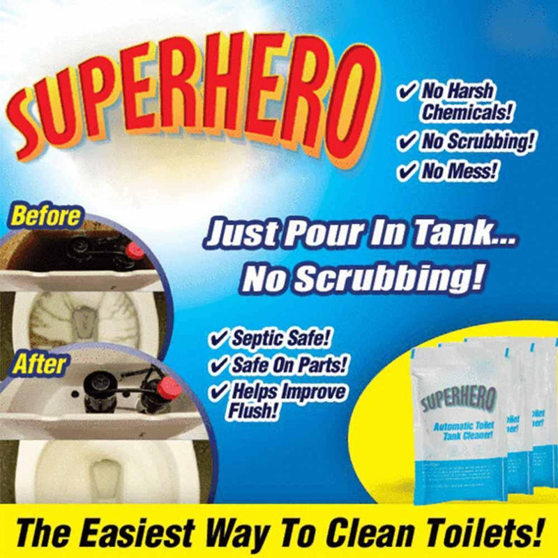 Scrubbing-free Toilet Tank Cleaner, 3 Packs - mygeniusgift