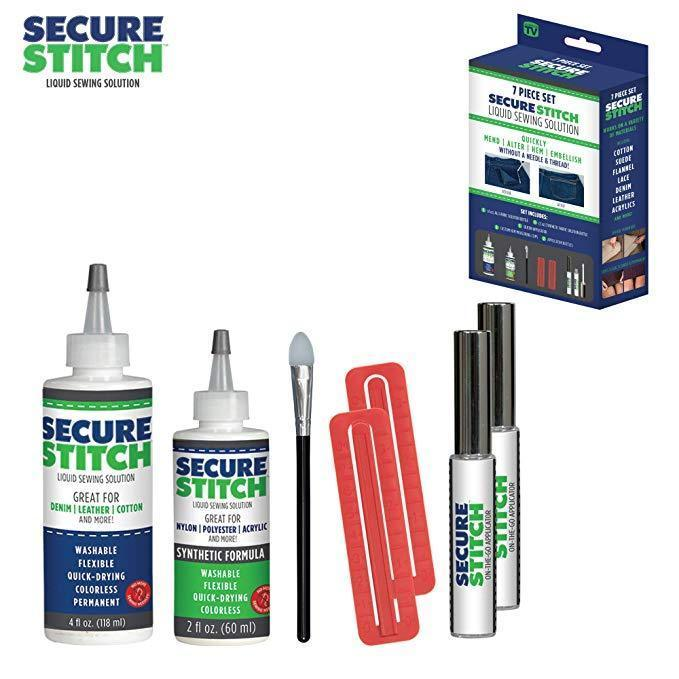 Secure Stitch Liquid Sewing Solution Kit! - mygeniusgift