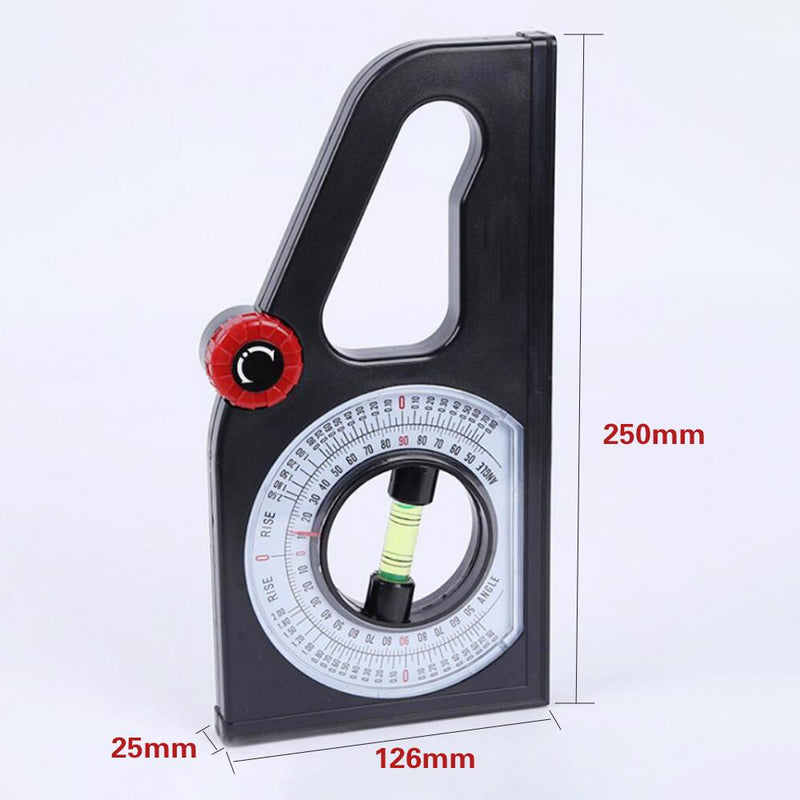 Mygeniusgift ™ Slope Horizontal Vertical Angle Bevel Protractor Declinometer - mygeniusgift