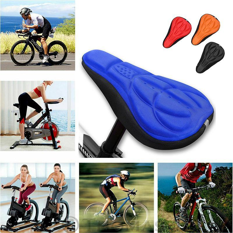 3D Silicone Soft Bike Seat Saddle Cover