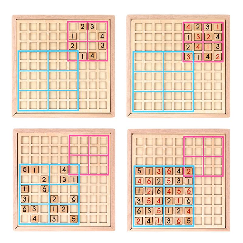 Wooden Sudoku Puzzle