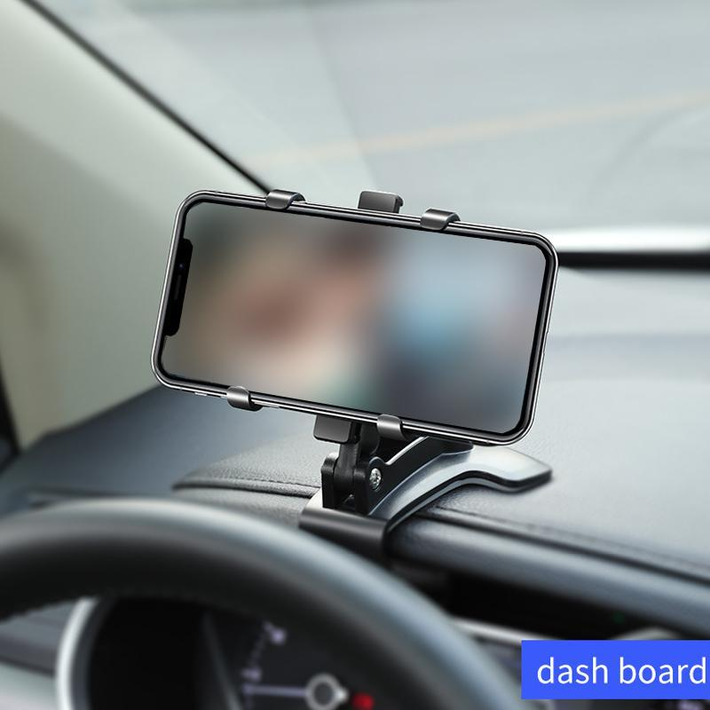 Dashboard Phone Holder with Number Plate