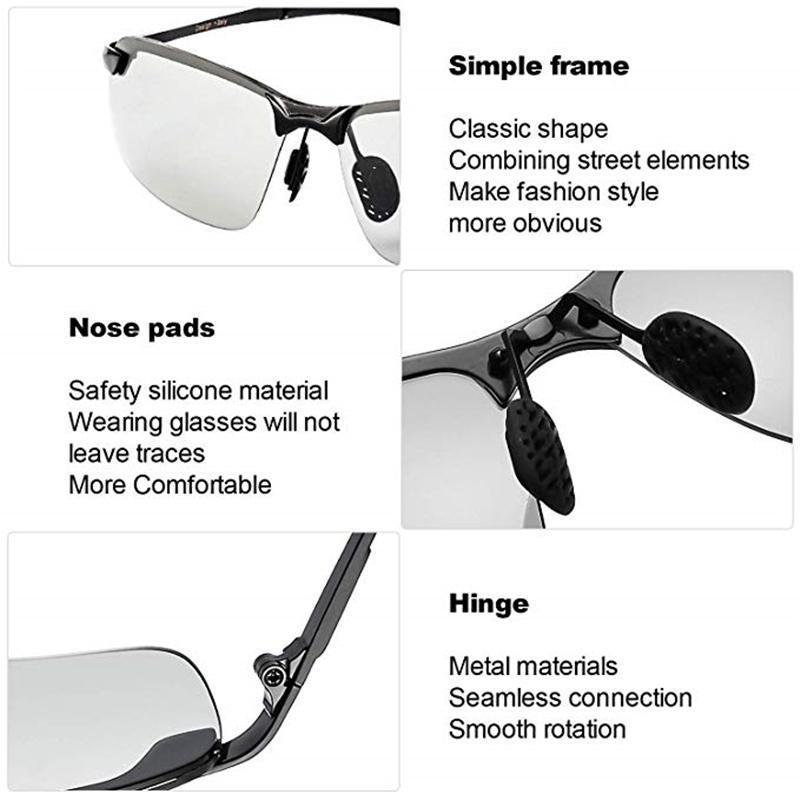 Photochromic  Sunglasses With Polarized Lens - mygeniusgift