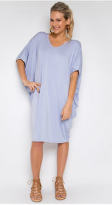MIRACLE DRESS IN LILAC