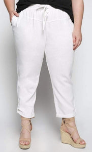 BELIZE PANT IN WHITE