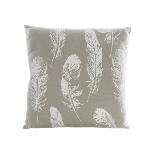 CUSHION GREEN/WHITE LEAF