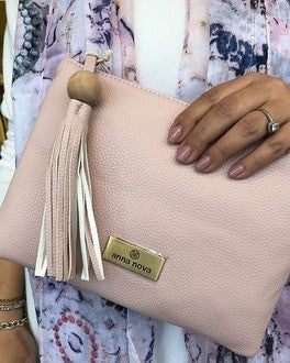 TROPICANA CLUTCH NUDE