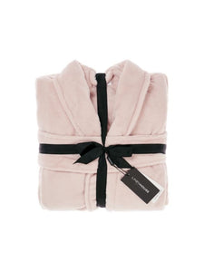 PLUSH BATH ROBE BLUSH