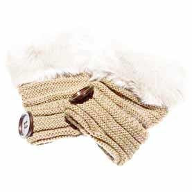 GLOVES NATURAL FINGERLESS