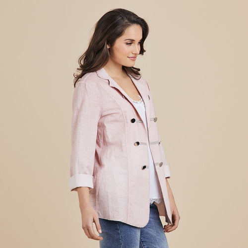 PINK MILITARY JACKET
