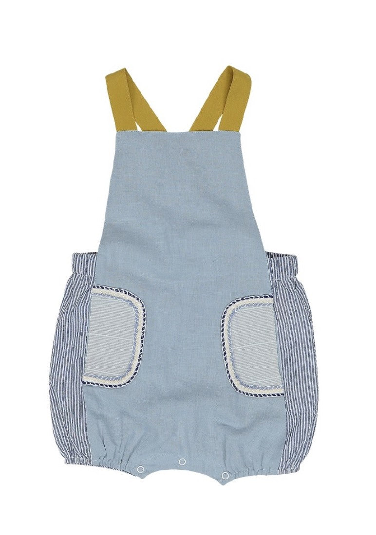 SUNNY DAY POCKET OVERALLS