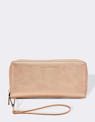 JESSICA PINK CHAMPAGNE WALLET