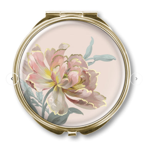 CLASSIC COMPACT MIRROR SINGLE FLOWER