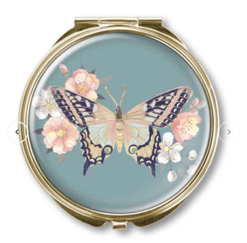 CLASSIC COMPACT MIRROR BUTTERFLY