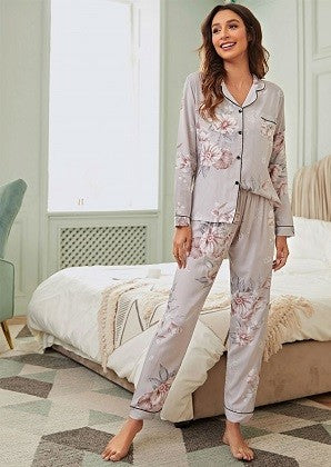CATE LONG SLEEVE PYJAMAS
