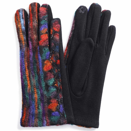 COLOURFUL EMBROIDERED GLOVES
