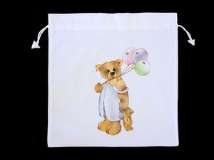 "COTTON BABY BAG 38X38CM ""MY TEDDY"""