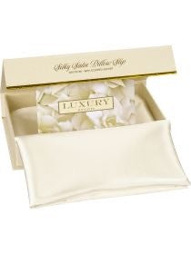 SILKY PILLOW SLIP - PEARL