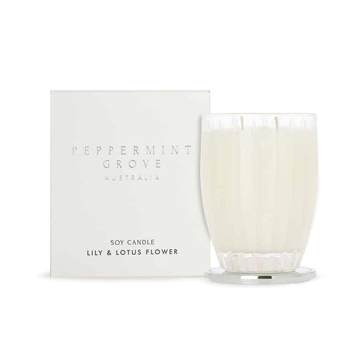 LILY & LOTUS FLOWER CANDLE 350G