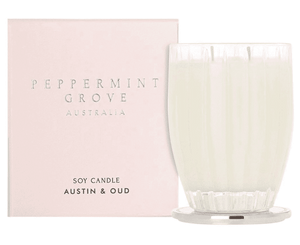 AUSTIN & OUD CANDLE 350G