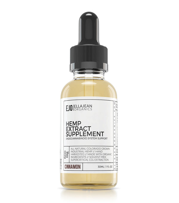 EllaJean Organics Hemp Extract Oil 600mg