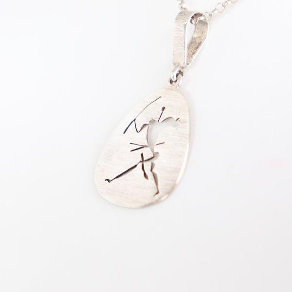 Rock Art Pendant in Silver - Cape Diamond Exchange