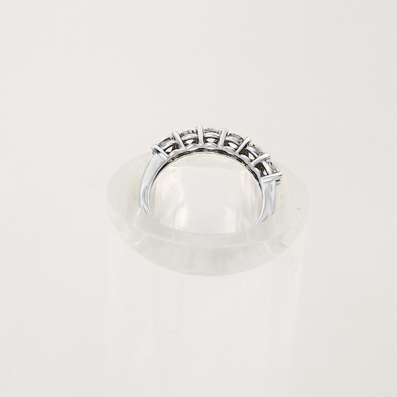 18kt White Gold Diamond Half Eternity Ring - Cape Diamond Exchange