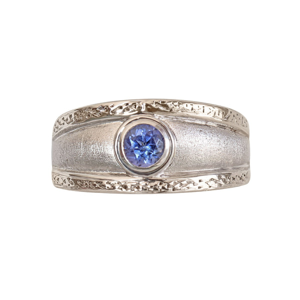 Bezel set Tanzanite Ring - Cape Diamond Exchange