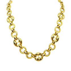 Gucci Link Gold Neckace - Cape Diamond Exchange