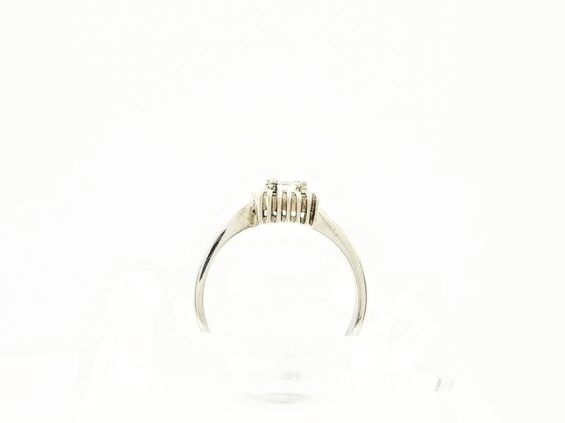 Square Design Halo Diamond Ring - Cape Diamond Exchange