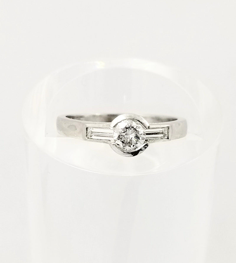 Platinum Engagement Ring - Cape Diamond Exchange