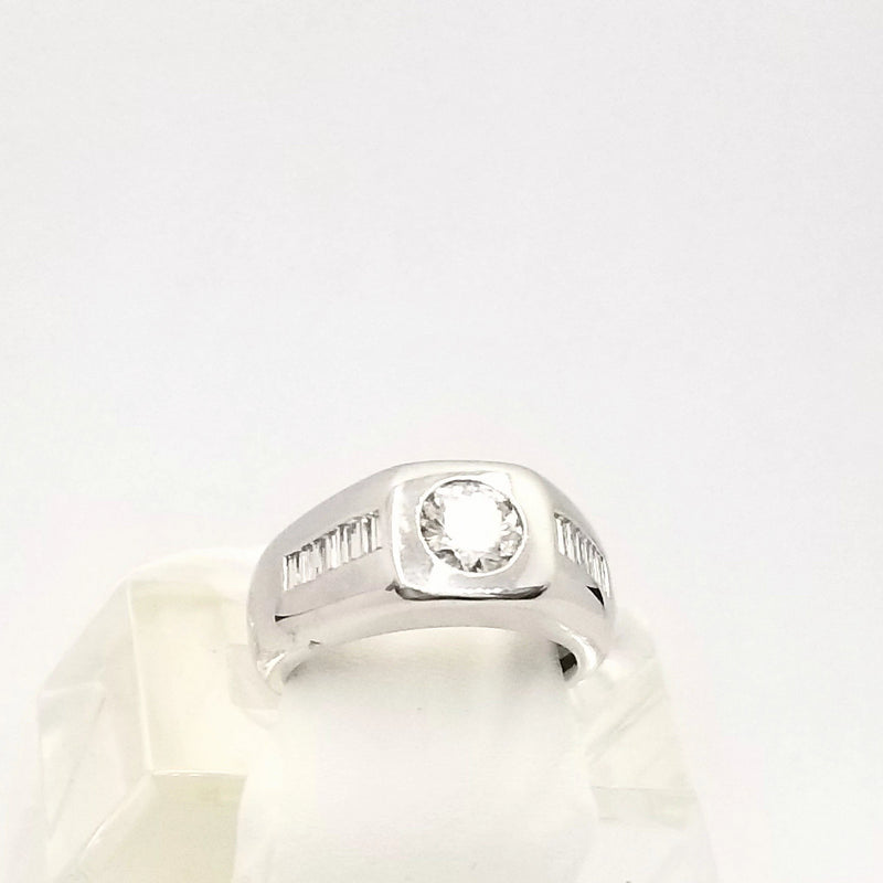 Platinum Men's Diamond Ring - Cape Diamond Exchange