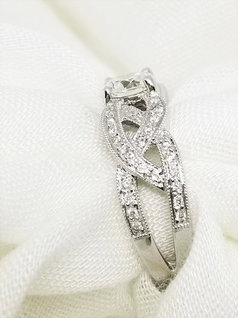 18Kt White Gold and Diamond Fancy Ring - Cape Diamond Exchange