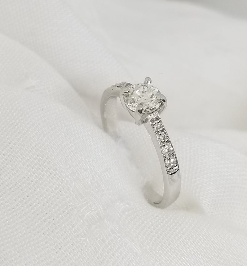 9kt Diamond Engagement Ring - Cape Diamond Exchange