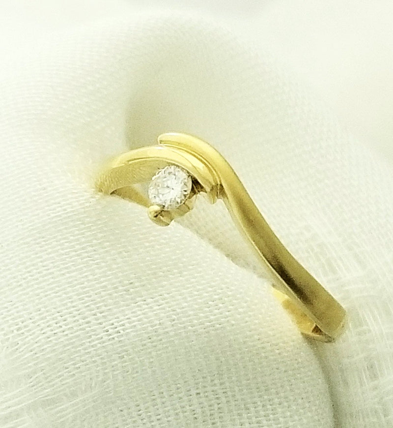 18 Kt Yellow Gold Diamond Ring - Cape Diamond Exchange