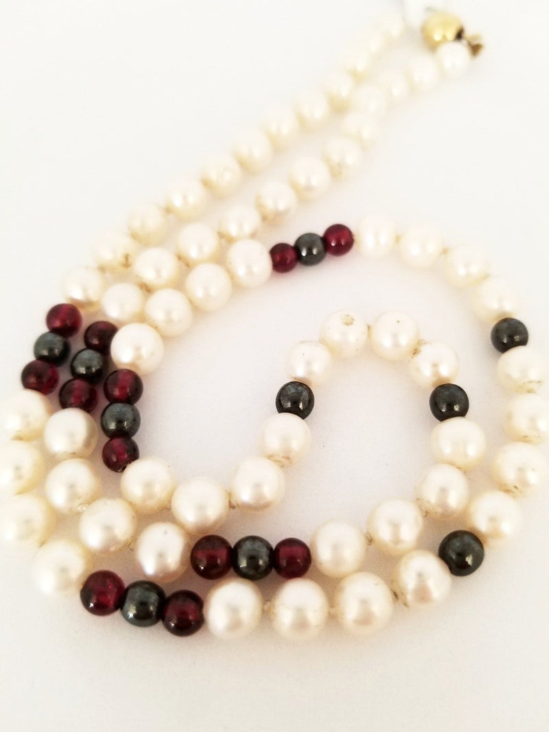 Pearls and Beads Necklace - Cape Diamond Exchange