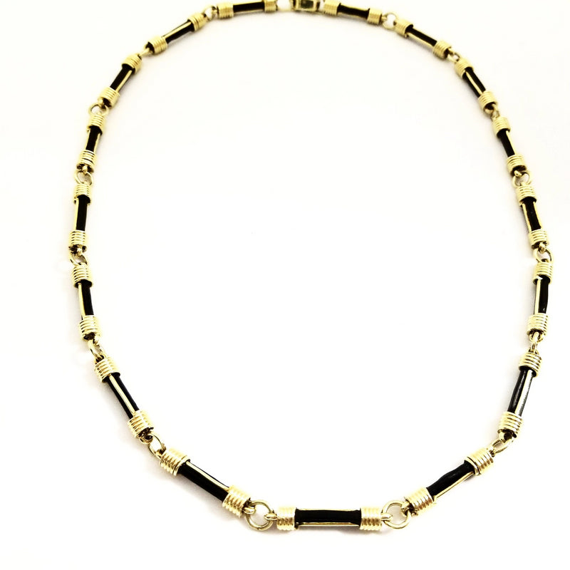 Elephant Hair Gold Necklace - Cape Diamond Exchange